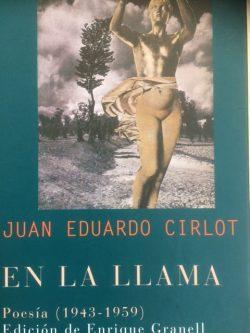 Portada del Poemario de J.E. Cirlot en Siruela, 2005.