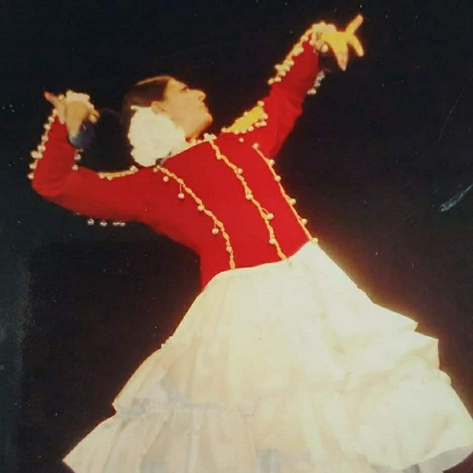 veronica jimenez bailando malaguenas